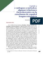 Enfoques y métodos de enseñanza de lenguas