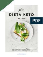 Plan Dieta Keto