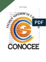 Diagnóstico Escuela Superior de Ejecutivos-CONOCEE