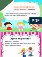 PATRONES SONOROS, VISUALES Y CORPORALES. 2