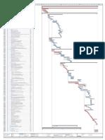 Programacion de Ejecucion de Obra (Gantt)