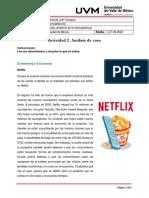 Actividad 2 . Análisis Del Caso Netflix.mercadotecnia