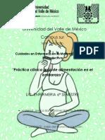 """""""Práctica clínica guía de alimentación final materno"""