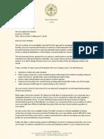 Dan Gelber Letter to Gov. Ron DeSantis