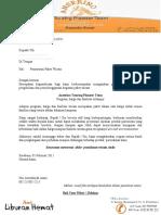 surat penawaran perjalanan wisata