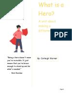 unit plan heroism