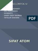 Sifat Atom