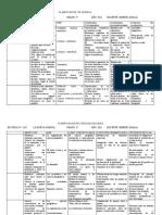 analia planificacion 3° grado