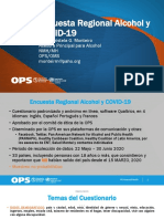Alcohol y COVID19 resultados regionales Maristela Monteiro