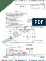 Série N°4 Sans Correction -  Brasse de l'information Génétique - Lycée ibn Rachik Sfax - Bac Science