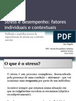 Stress e aprendizagem - fatores individuais e contextuais