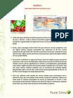 ALERTA - PLANTIO DA SOJA SAFRA 2020-21