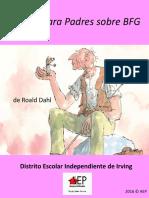 The BFG Parent Guide - Spanish