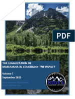 THE LEGALIZATION OF MARIJUANA IN COLORADO
