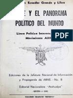 Arne y el panorama politico