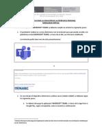 Instructivo para la Entrevista Personal - Microsoft Teams.pdf