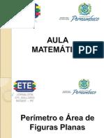 Perímetro e Áreas de Figuras Planas - D11 e D12