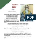 ACATISTUL SFÂNTULUI HARALAMBIE
