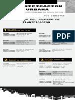 Planea tu viaje guía moderno con rectángulos negros con fondo blanco Infografía (1)