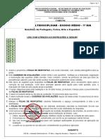 AM - 1º DIA - BLOCO II_2ª Série