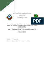 Kertas Kerja Perkhemahan 2008