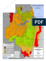 Mapa da Amazonia Potencial de Agressividade Climatica 2014
