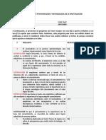 EVALUACIÓN DE EPISTEMOLOGÍA Y METODOLOGÍA DE LA INVESTIGACIÓN
