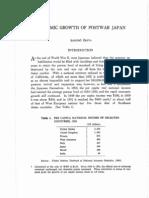 10-III-ECONOMIC GROWTH OF POSTWAR JAPAN-Saburo Okita