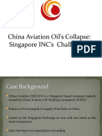 China Aviation Oil's Collapse - BE