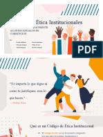 Codigo de etica institucional II