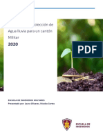 Proyecto Impacto ambiental Recolecion Aguas lluvias