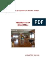 Regimento da BE 2009-2010