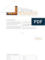 Osirix as a Resource