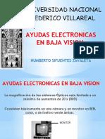 AYUDAS ELECTRONICAS EN BAJA VISION