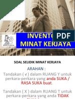 8. INVENTORI  MINAT KERJAYA