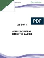 LECCION_1HIGIENE IND CONSEPTOS