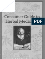 Herbal Medicine - eBook - PDF - Dr Weil - Guide to Herbal Medicines