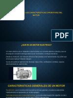 CARACTERISTICAS OPERATIVAS DEL MOTOR