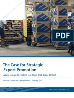 The Case for Strategic Export Promotion