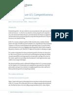 Measuring Future U.S. Competitiveness