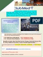 Club Med Kani Job Ad. 19.11.2020 GE Kani