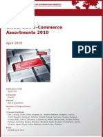 Global B2C E-Commerce Assortments 2010 by yStats