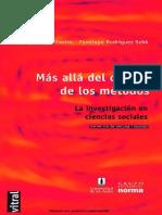 Libro - Bonilla Castro Elssy - Más Allá del Dilema de los Metodos