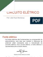 AULA CIRCUITO ELÉTRICO