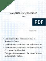 Hungarian Netgeneration - Judit Hornyák