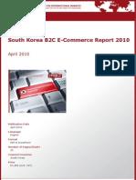 South Korea B2C E-Commerce Report 2010 by yStats