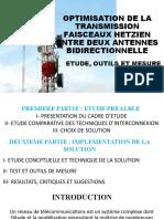 OPTIMISATION DE LA TRANSMISSION FAISCEAUX HETZIEN ENTRE DEUX.pptx