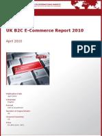 UK B2C E-Commerce Report 2010 by yStats