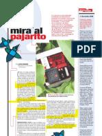 Mira al pajarito (Suplemento Q), PuntoEdu. 09/04/2007
