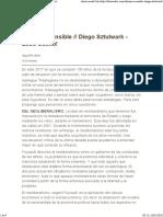 Ofensiva sensible  Diego Sztulwark